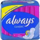 Always Classic Maxi  9 ks  dámské intímky