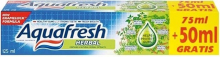 AQUAFRESH  HERBAL 125 ml  -   zubní pasta