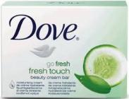 DOVE go fresh touch 100 g toaletní mýdlo s vůní okurky a zeleného čaje