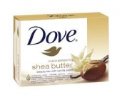 DOVE shea butter  100 g toaletní mýdlo se smesí  bambuckého másla  a vanilky