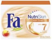 Fa Cream Soap NutriSkin White Peach 100 g toaletní mýdlo s vůni bílé broskve