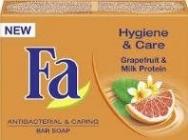 Fa Hygiene Care Grapefruit Milk Protein  100 g  toaletní mýdlo s antibakteriálním efektem