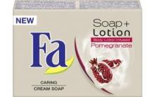 Fa Soap Lotion Pomegranate  100 g toaletní mýdlo s obsahem tělového mléka