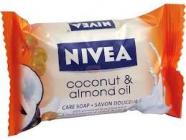 NIVEA Coconut almond oil  90 g -  krémové mýdlo s mořskými minerály
