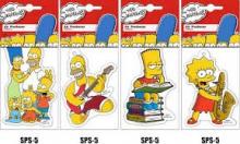Vůně  Power air The Simpsons  Air Freshener VANILLA