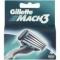 Gillette  MACH 3  náhradní hlavice 4 ks